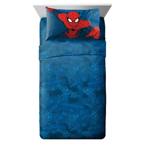 Marvel Spiderman 'Graphic' 3 Piece Twin Sheet Set