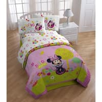 Minnie Bowtique Garden Party 4 Piece Full Sheet Set