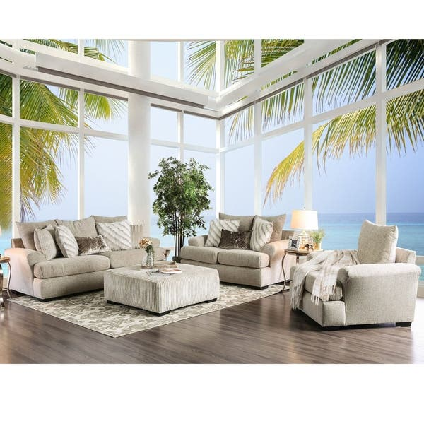 Excellent Athena Transitional Beige Sofa By Foa Creativecarmelina Interior Chair Design Creativecarmelinacom