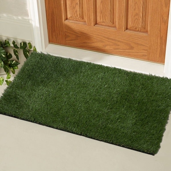 Shop Garden Grass Indoor Outdoor Green Artificial Turf