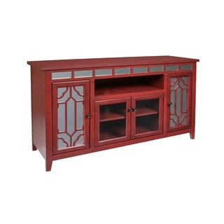Gable Red 60-inch RTA Entertainment TV Stand