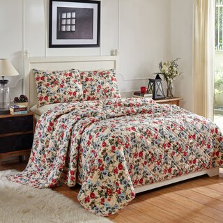 Finian Floral Cotton Quilt Set