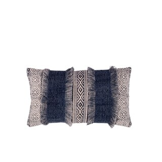 Fab Habitat Clarens Decorative Pillow - Blue (14' x 24')