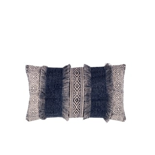 Fab Habitat Clarens Decorative Pillow - Blue (14' x 24')