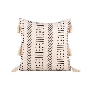 Fab Habitat Zanzibar Decorative Pillow - Ivory (20' x 20')