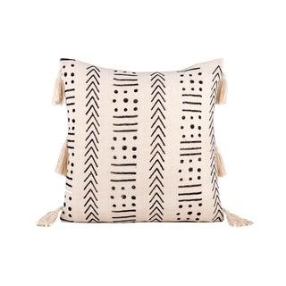 Fab Habitat Zanzibar Decorative Pillow - Ivory (20' x 20')