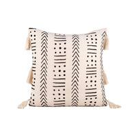 Fab Habitat Zanzibar Decorative Pillow - Ivory (20' x 20') - White