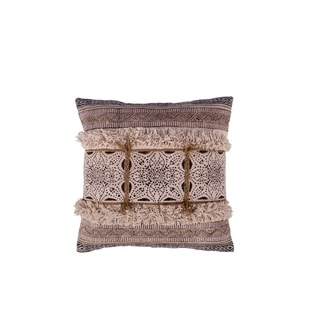 Fab Habitat Beira Decorative Pillow - Natural (20' x 20')
