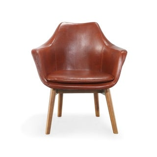 Cronkite Leatherette Accent Armchair