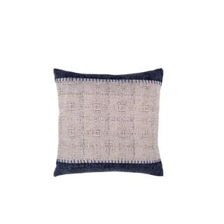 "Handmade Jaipur Decorative Pillow - 20"" x 20"" (India)"