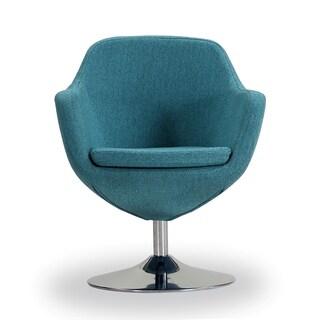 Caisson Swivel Accent Chair
