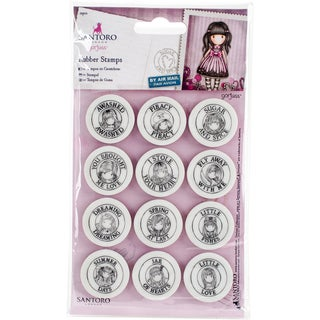 Santoro's Gorjuss Mini Stamp Set 12/Pkg