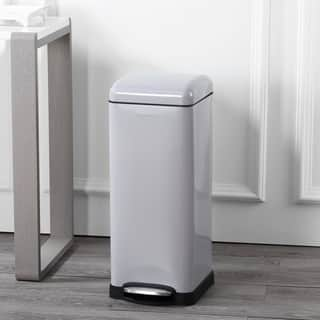 Buy Size 7-9 Gallons Kitchen Trash Cans Online at Overstock ...