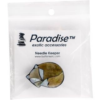 Paradise Inlaid Shell Needle Keeper