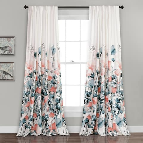 Buy Floral Bohemian Eclectic Curtains Drapes Online At Overstock Our Best Window Treatments Deals