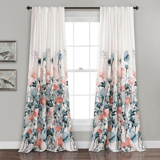 Floral Curtains Amp Drapes For Less Overstock