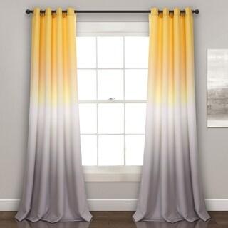 "Lush Decor Umbre Fiesta Room Darkening Window Curtain Panel Pair - 52""W x 84""L"