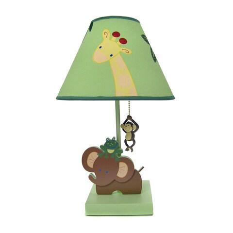 NoJo Jungle Babies Lamp & Shade