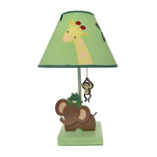 NoJo Jungle Babies Lamp & Shade