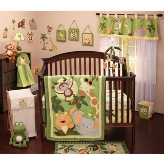NoJo Jungle Babies 8pc Comforter set