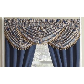 Croscill Aurelio Waterfall Swag Valance