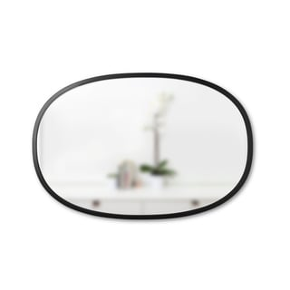 Umbra Hub Mirror Black Oval 24 inches x 36 inches