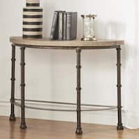 Nori Industrial Sofa Table by iNSPIRE Q Artisan