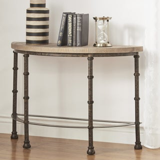 Nori Industrial Sofa Table by iNSPIRE Q Artisan