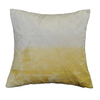 AM Home Ombre Viscose Velvet Pillow , Feather Insert (More options available)