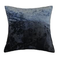 AM Home Ombre Viscose Velvet Pillow , Feather Insert