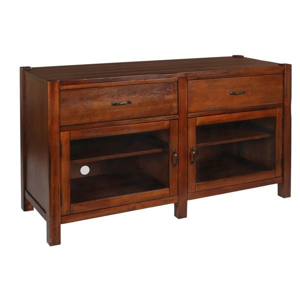 Giverny African Honey 52-inch Entertainment TV Console - 52 inches