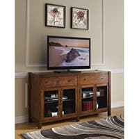 Giverny African Honey 65-inch Entertainment TV Console - 65 inches