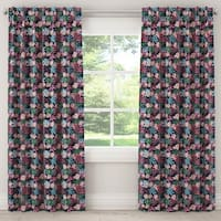 Skyline Blackout Curtain in Capricorn Floral Tropical