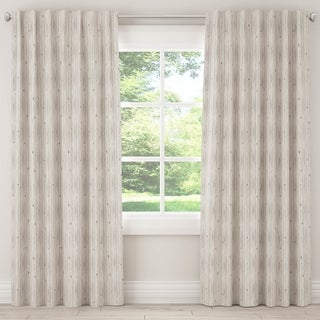 Skyline Blackout Curtain in Shibori Stripe