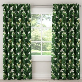 Skyline Blackout Curtain in Swaying Palm Aloe