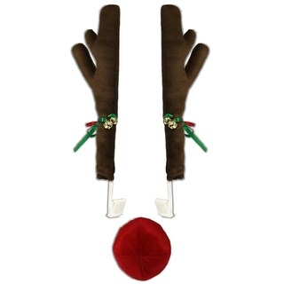 Reindeer Car Decoration - brown