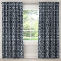 Skyline Unlined Curtain in Paris Tile