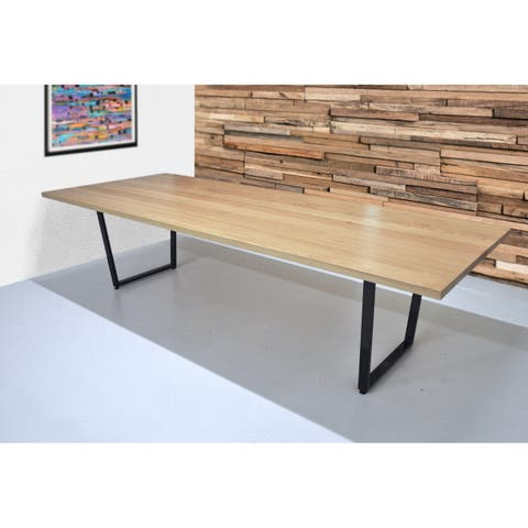"""SOLIS Solidum 120"""" Solid Wood Conference or Dining Table"""