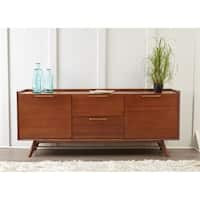 Waldorf Walnut Modern 3-section Sideboard