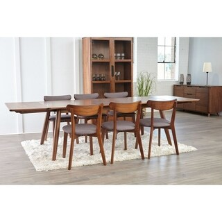 Kirkwood American Walnut Mid Century 77-inch Dining Table