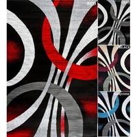 Persian Rugs Abstract Area Rug - 5'2 x 7'2