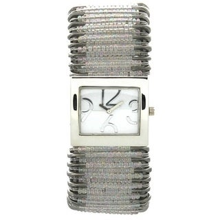 Olivia Pratt Women's Safety Pin Stretchband Watch (2 options available)