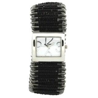 Olivia Pratt Women's Safety Pin Stretchband Watch
