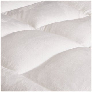 White Quilted Waterproof and Hypoallergenic Mattress Protector