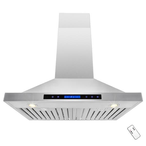 Akdy Rh0214 30 European Stainless Steel Wall Mount Range Hood Stove Vent Touch Control Overstock 19887429