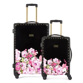 Macbeth Giuliana Trunk 2-piece Hardside Spinner Luggage Set