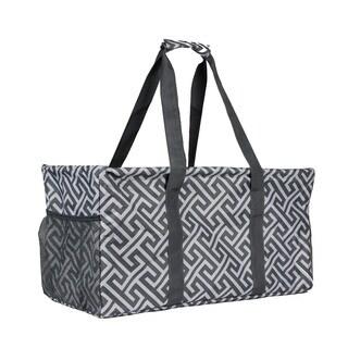 World Traveler Greek Key Household Essential Collapsable Multi-purpose Tote Bag