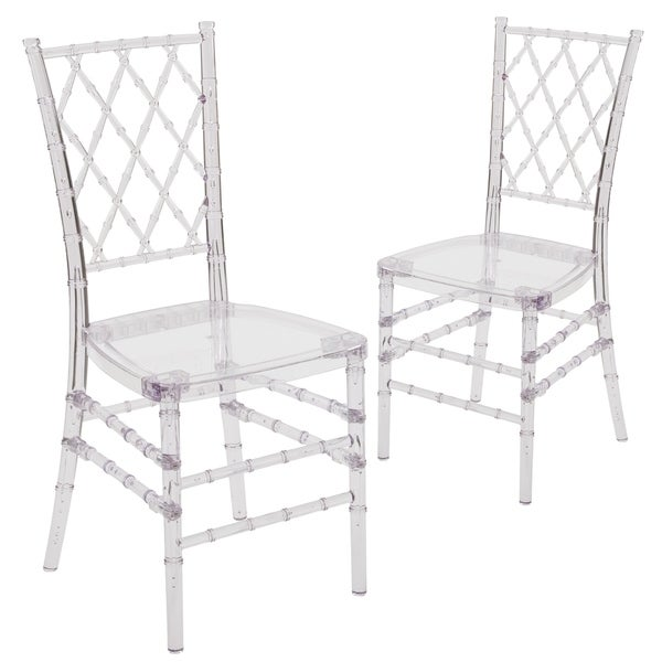 2 Pk. Flash Elegance Stacking Simplicity Chair
