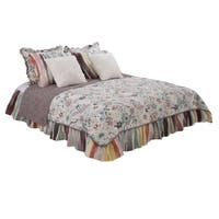 Cotton Tale Penny Lane Retro Floral Reversible Full/Queen Quilt