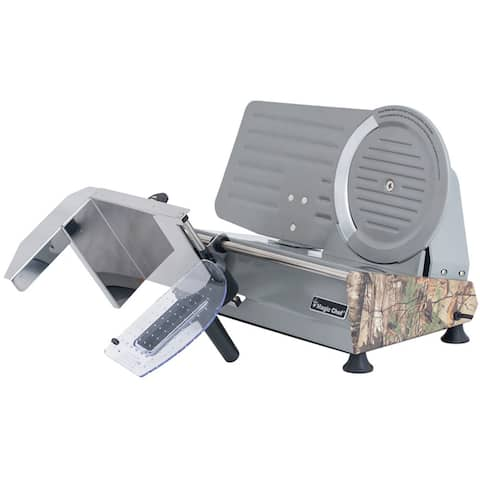 """Magic Chef 8.6"""" Meat Slicer with Authentic Realtree Xtra Camouflage Pattern"""
